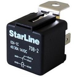 Реле StarLine 12v, 40/30A,...