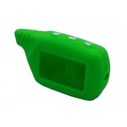 чехол starline a91 зелёный силикон
