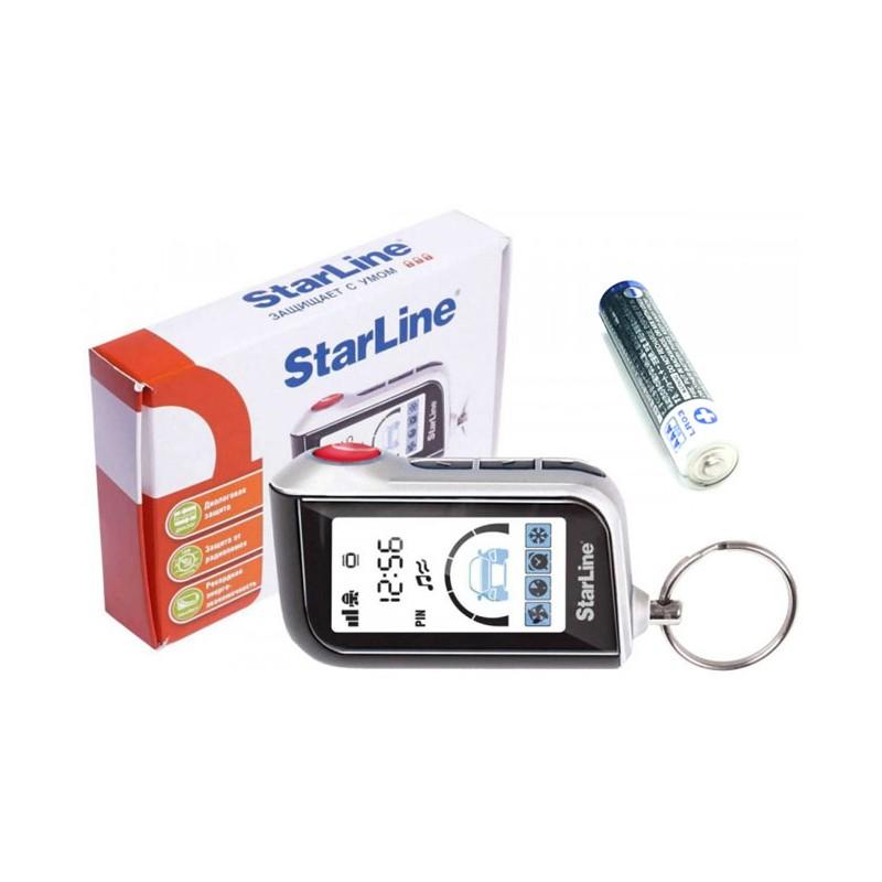 брелок starline a93 с вертикальным жк экраном оригинал