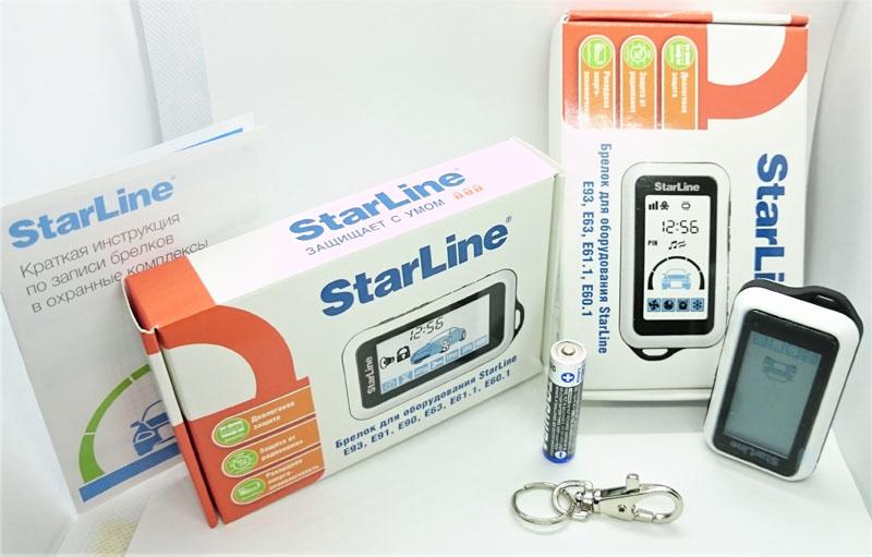комплект оригинального брелка StarLine E91/E90/E60/E61